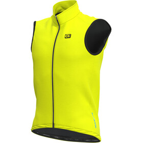 Alé Cycling Klimatik Guscio Racing Gilet Imperméable Homme, fluo yellow